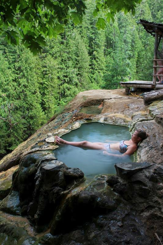 Umpqua Hot Springs, Oregon.