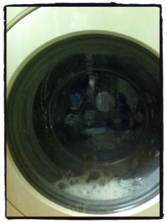 washing cloth nappies, washing machine clean