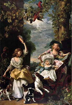 John Singleton Copley. The Three Youngest Daughters of King George III