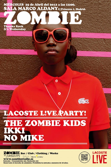 LACOSTE LIVE PARTY
