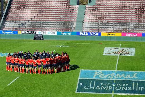 Plantel de Los Pumas para jugar en Salta