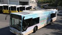 güneşli otobüsler
