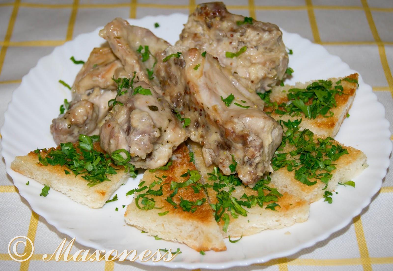 Стифадо из кролика. Мальтийская кухня