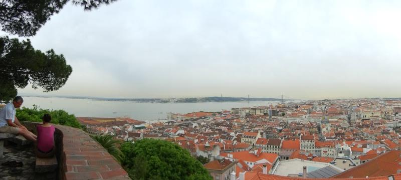 Лиссабон. Панорама города