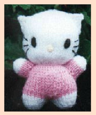 Hello Kitty Toy Knitting Pattern Free : HELLO KITTY DOLL FREE KNITTING PATTERN - VERY SIMPLE FREE KNITTING PATTERNS