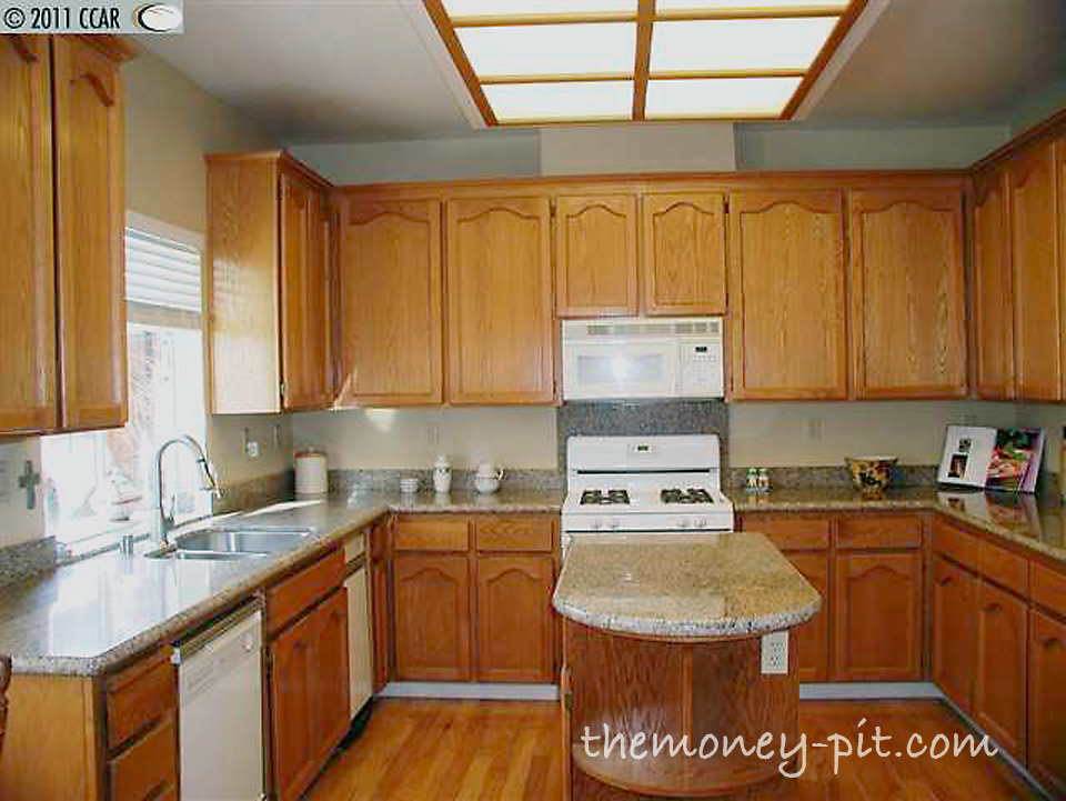 Update kitchen lighting bestsciaticatreatments updating cabinets with door hardware the kim six fix for update kitchen lighting workwithnaturefo