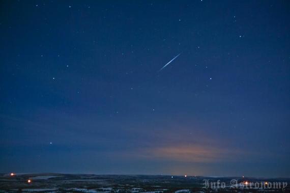 Daftar Fenomena Hujan Meteor Hingga Akhir Tahun 2013