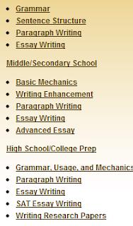 essays online classes