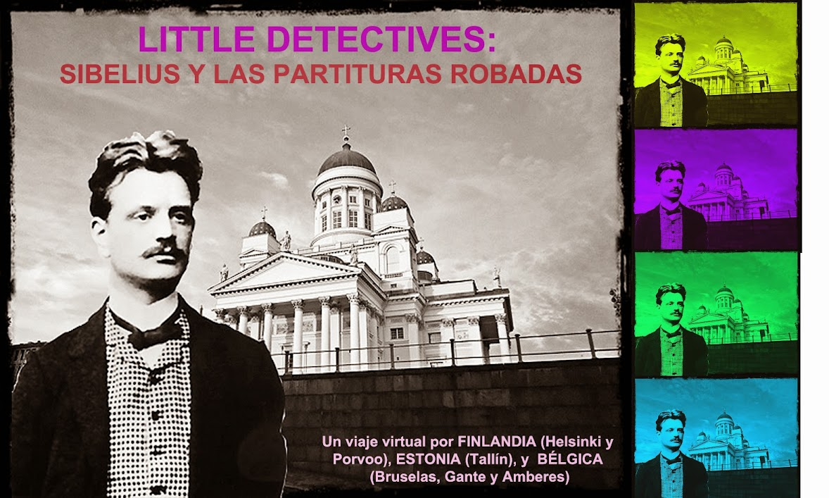 LITTLE DETECTIVES: SIBELIUS Y LAS PARTITURAS ROBADAS.