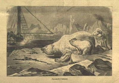 Tegetthof-Észak világa-Jegesmedve vadászat
