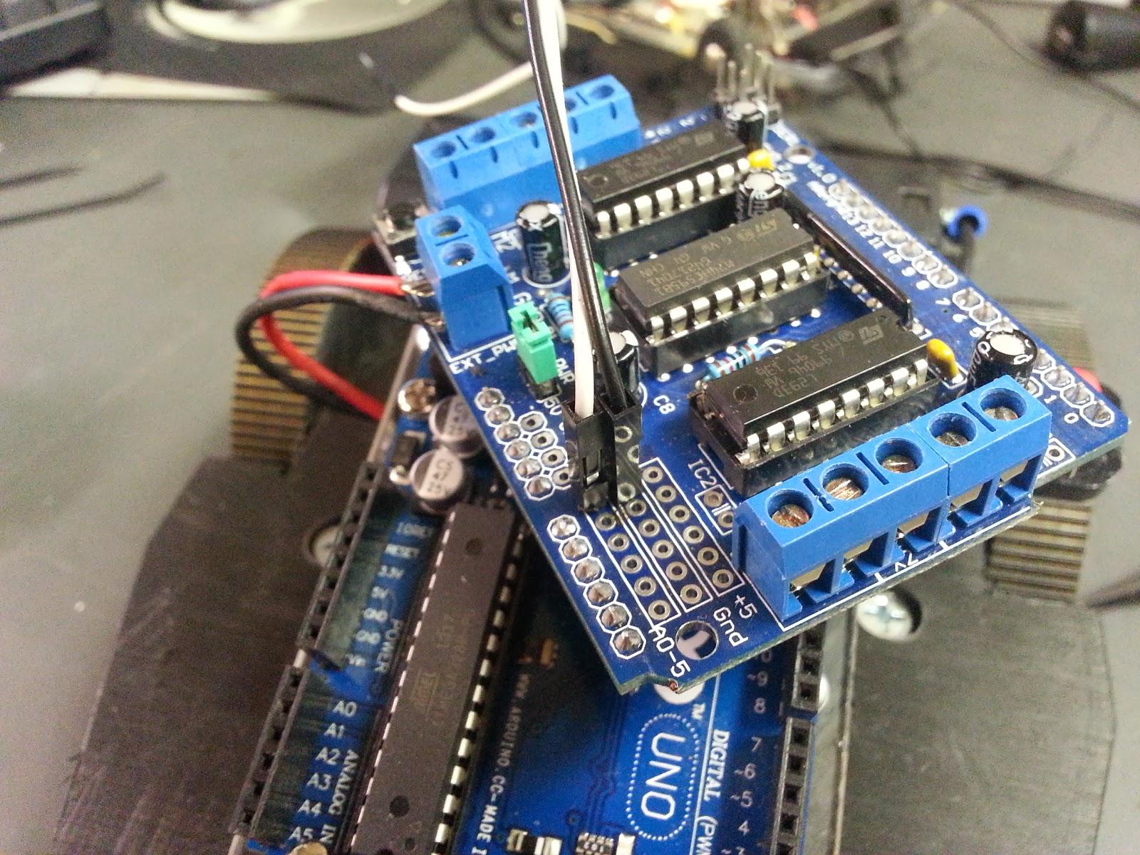 Arduino motor shield tutorial impremedia