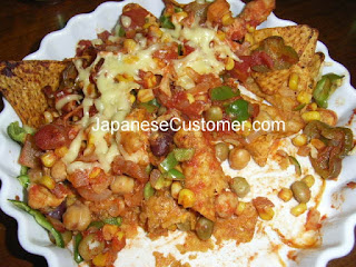 Japanese nachos copyright peter hanami 2009