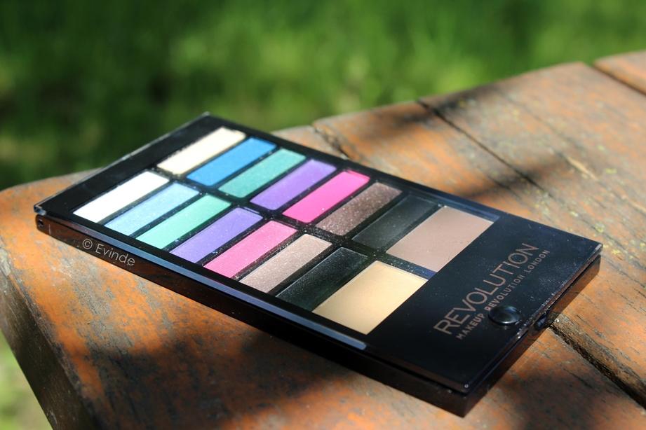 makeup revolution sticks & stones palette review