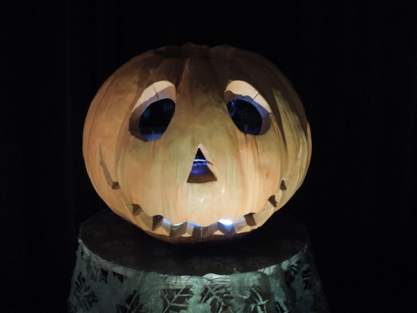 Return to Oz Jack Pumpkinhead prop head