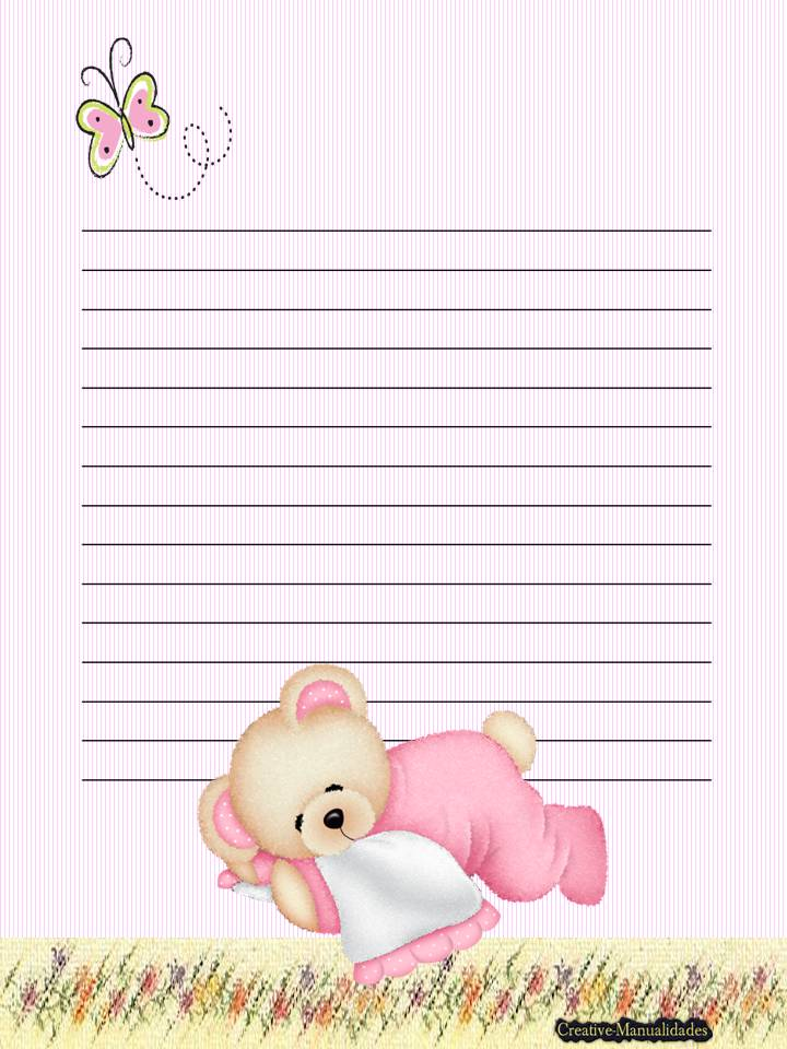 Top pagina para escribir una carta images for pinterest for Paginas decoradas