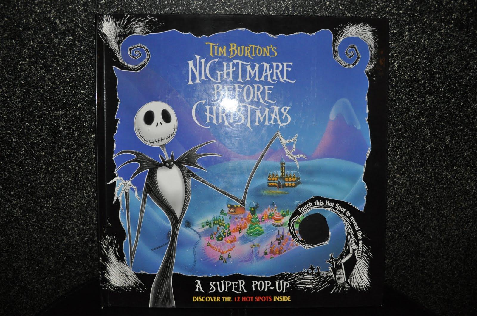 Disney Pixar Fanatics: 1993 Nightmare Before Christmas Super Pop-Up Book