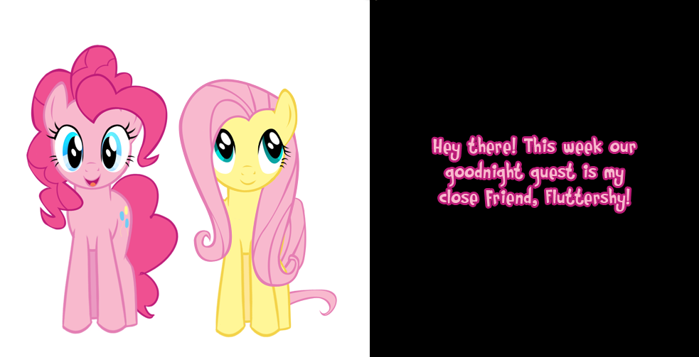 Another Friday night, another Pinkie says comic. This time, Fluttershy