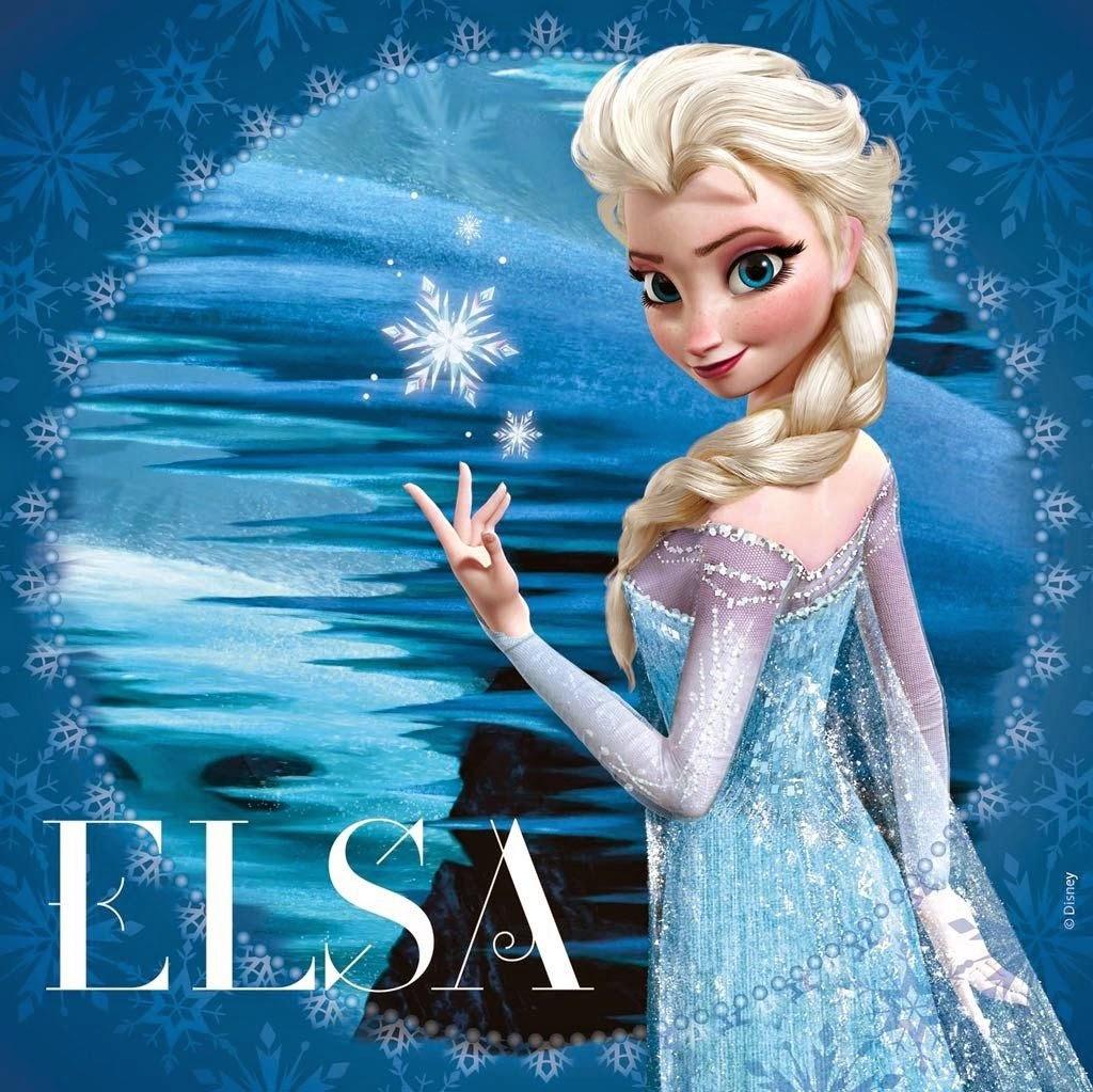 Tarjetas de Cumpleaños con Elsa de Frozen, parte 1