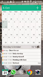Preview WAVE Personal Calendar | andromin