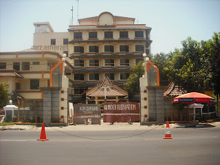 Hotel Kharisma Kota Cirebon sebelum dihancurkan
