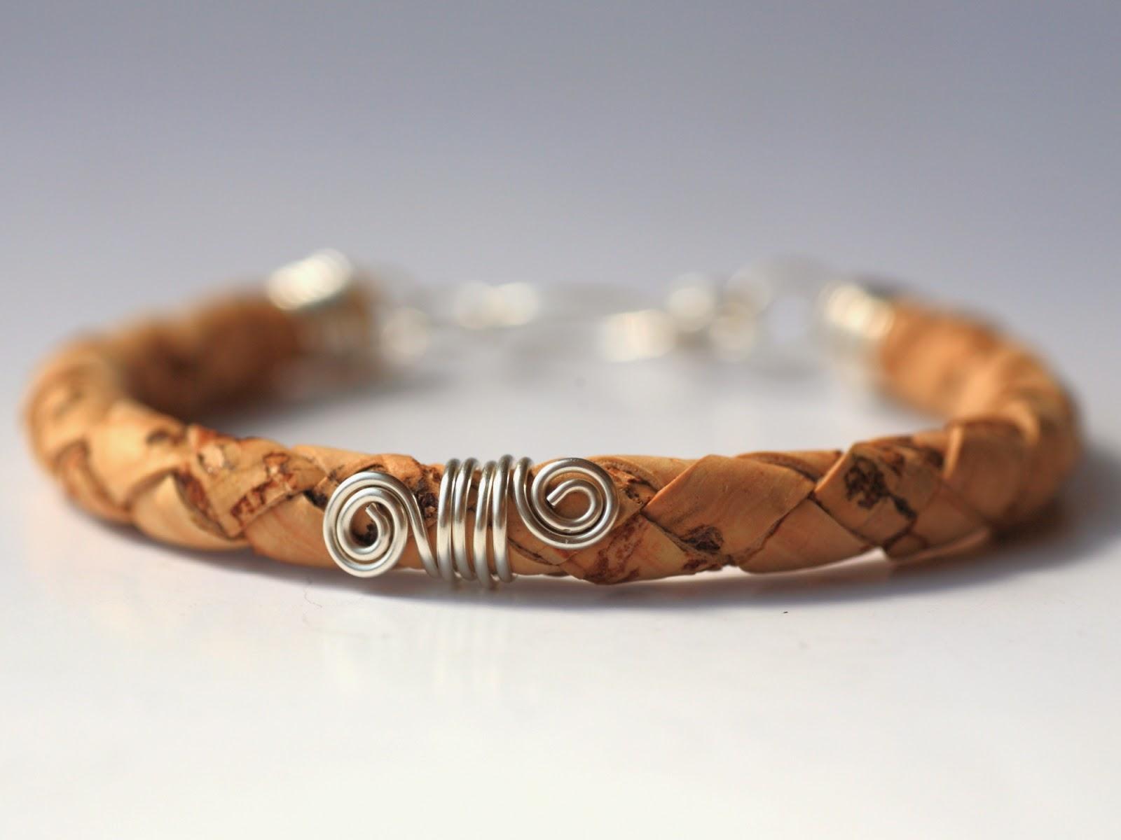 http://it.dawanda.com/product/64242763-Kork-verdreht-Armband