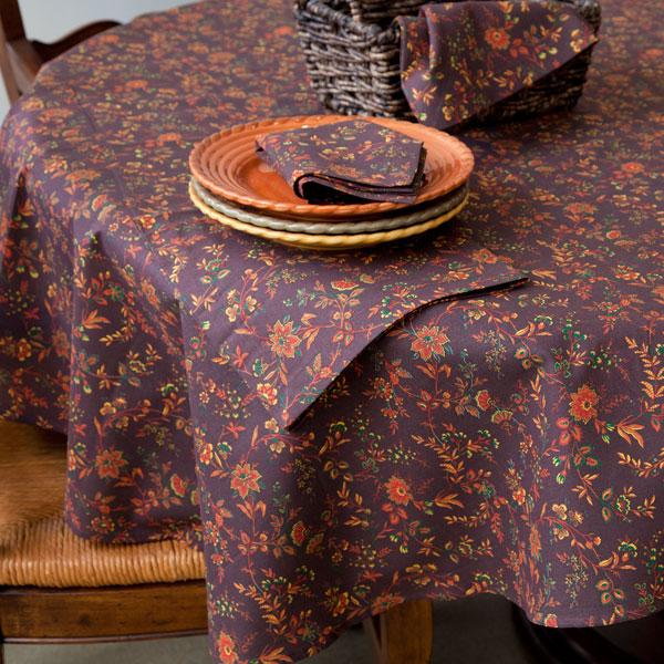 Autumn Vanilla Picture Autumn Tablecloths