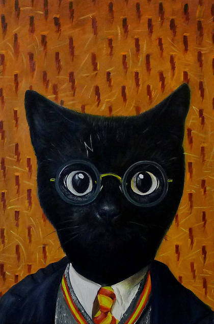 09-The-Potter-Splendid-Beast-Your-Animal-Friend-on-an-Oil-Painting-www-designstack-co
