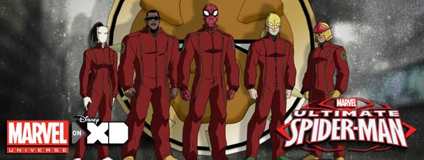 Red jumpsuits furnished by Gizmonic Institute