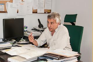 José Luis Vacas, Jefe de Sección de Red Viaria
