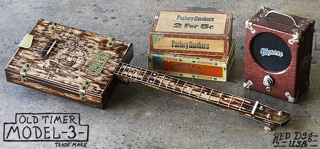 3 String Guitars and Cigar Box Guitars