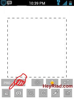 agar foto BBM Android tidak di crop