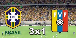 Brasil 3x1 Venezuela