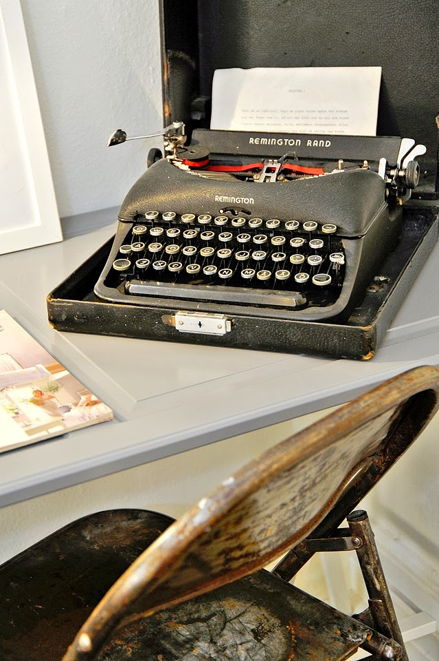 amenajari, interioare, decoratiuni, decor, design interior, masina de scris