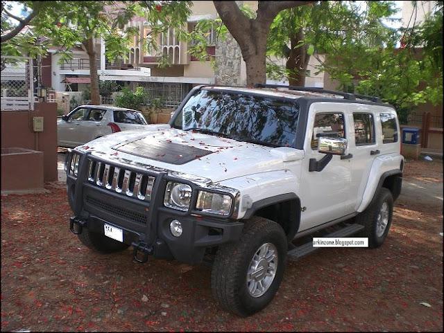 Kannada Actor Darshan S Hummer H3 Celebrity Cars India