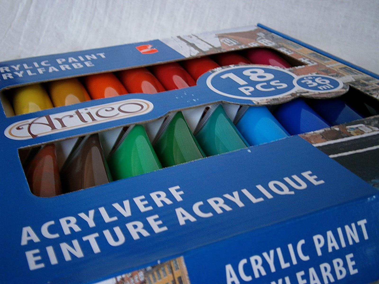 farby akrylowe do decoupage