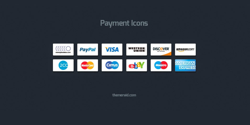 Free Online Payment Icons