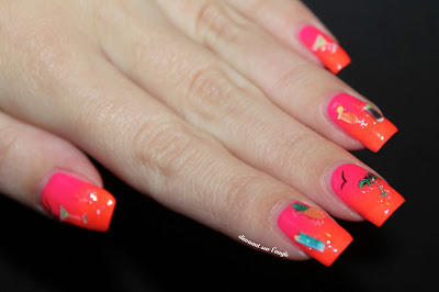 Cocktail Nail Art