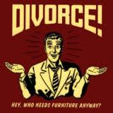 Divorce begets lack of furniture