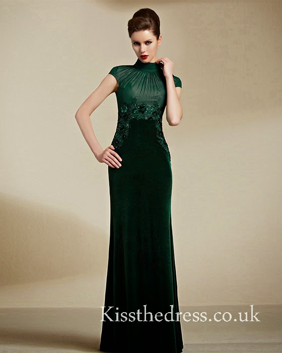 green mother prom dress