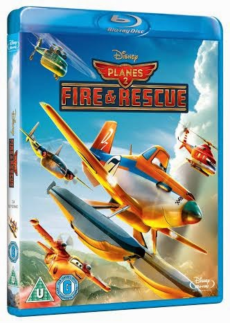 Planes 2: Fire And Rescue giveaway Blu-ray pack shot