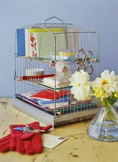 Repurposed Bird Cage