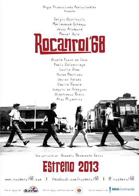 Poster del Rock Peruano de los años 60
