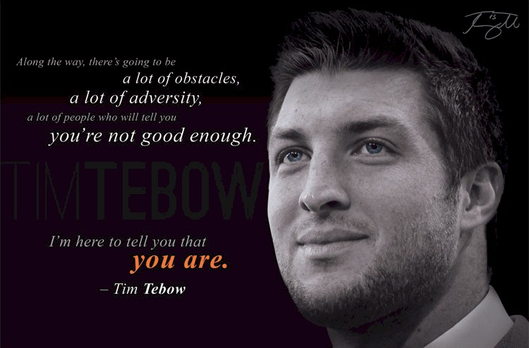 Through My Eyes Tim Tebow Quotes