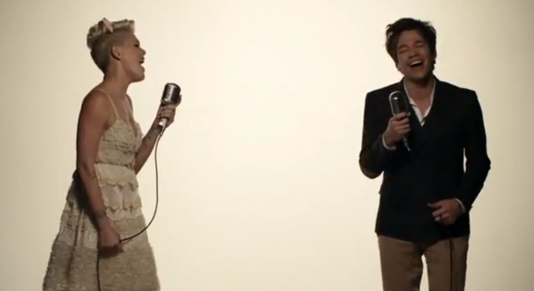 nk ft. Nate Ruess - 'Just Give Me A Reason' music video