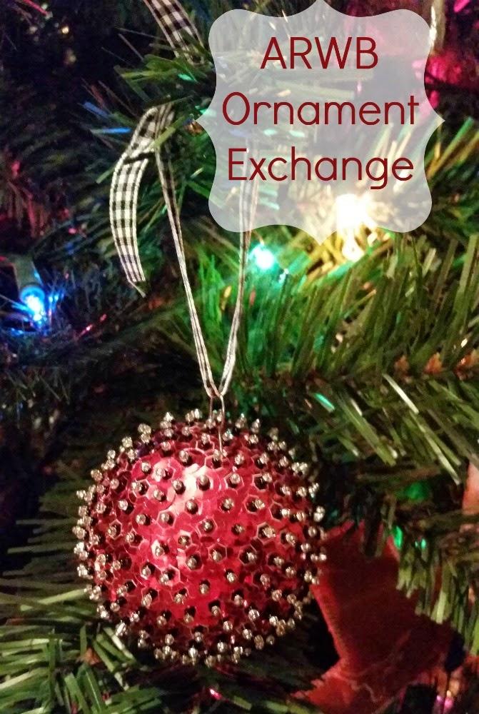ARWB Homemade Ornament Exchange | #arwb #ornaments