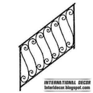 iron staircase railing design Iron stairs railings designs   Iron staircase railings designs