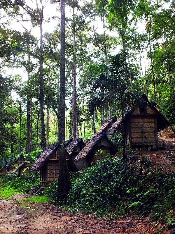 Lumbung padi yang berada di kampung Gajeboh