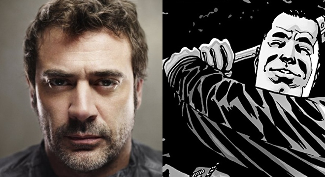 Jeffrey Dean Morgan será Negan