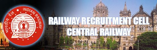 Image result for Railway Recruitment Cell Central Railway (RRCCR)