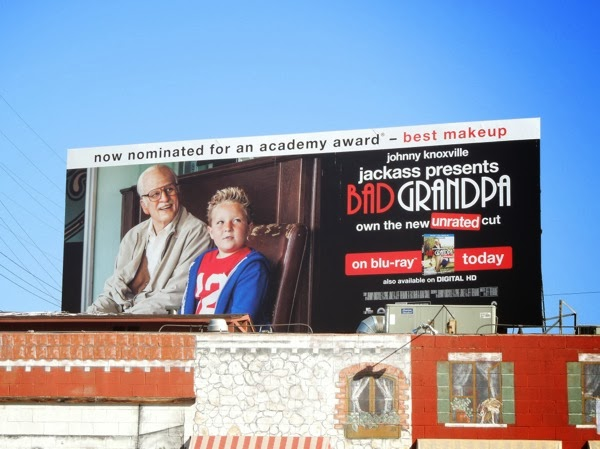 Bad Grandpa Oscar nomination billboard